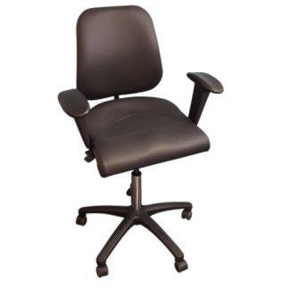 Ergonomiske stole med ryglæn
