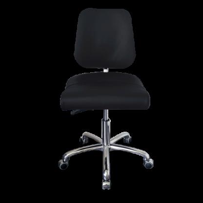 PHE Labmaster med aluminiums stel - Eksklusiv ergonomisk stol / kontorstol - Egholm Skind ApS.