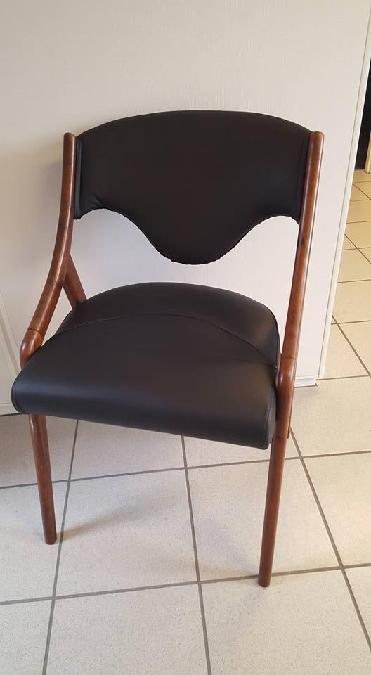 Ompolstring af stol efter billede
