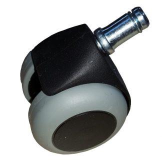 PHE Hjul med bremse til ergonomisk stol - Egholm skind ApS.