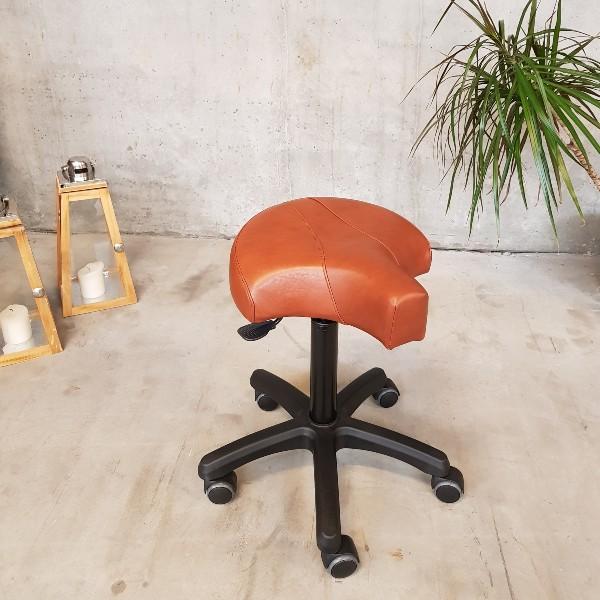 PHE Klippestol 009-370 brun læder