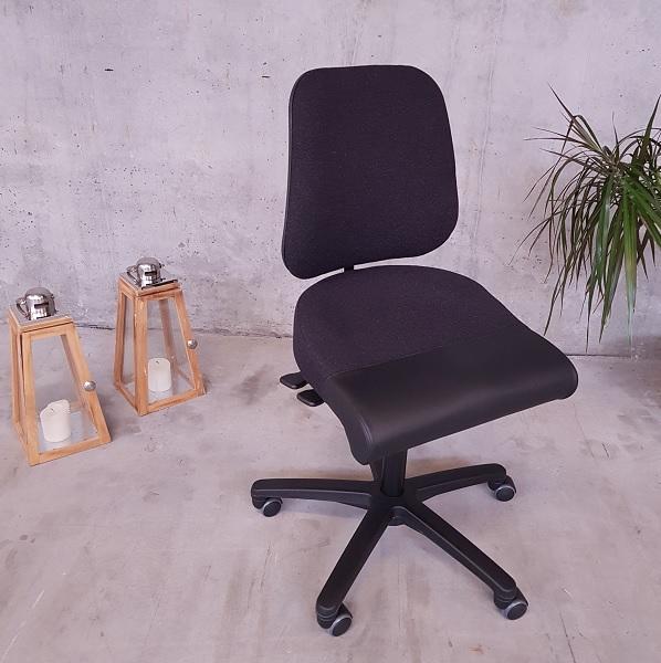 Kasse kontorstol med høj ryg